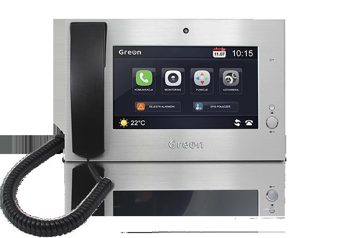 wideodomofon IP Greon centrala portierska GR-GS1