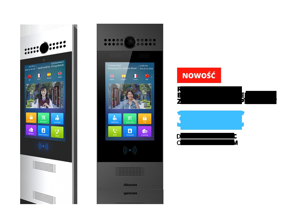 Wideodomofon IP SIP Akuvox R29C