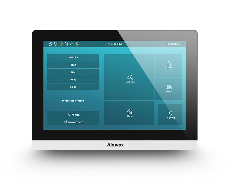 Monitor wideodomofonu IP SIP C317