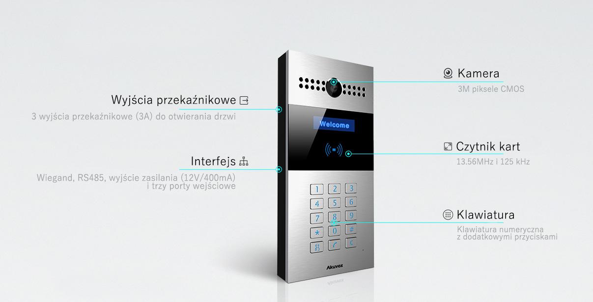 Wideodomofon IP/SIP Akuvox R27